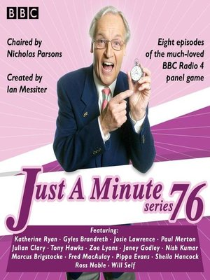 cover image of Just a Minute, Series 76