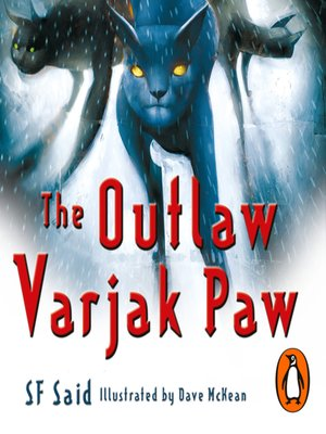 cover image of The Outlaw Varjak Paw