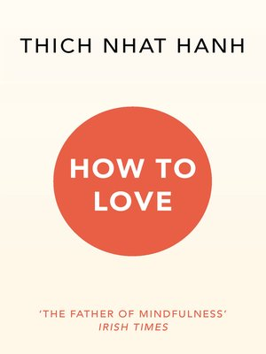 cover image of How to Love
