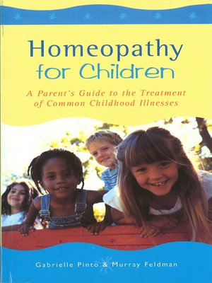 cover image of Homeopathy For Children