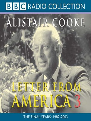 cover image of Letter from America, Volume 3
