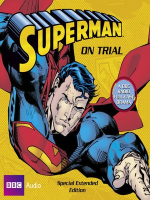 cover image of Superman on Trial