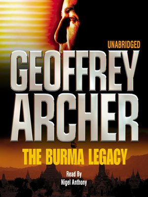 cover image of The Burma Legacy