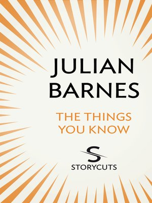 cover image of The Things You Know