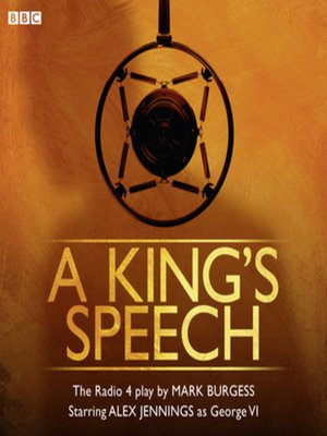 cover image of A King's Speech