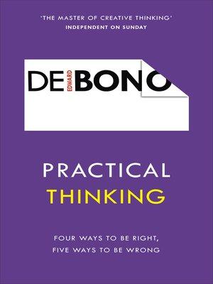 cover image of Practical Thinking