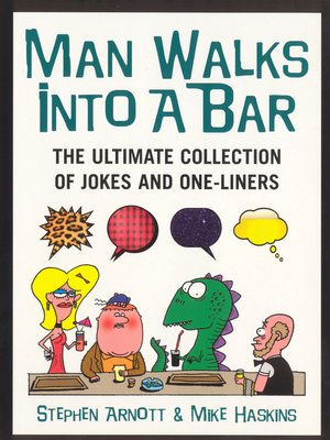 cover image of Man Walks Into a Bar