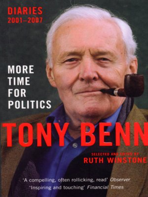cover image of More Time for Politics