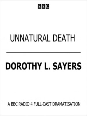 cover image of Unnatural Death