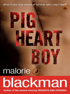 cover image of Pig-Heart Boy