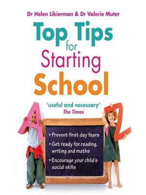 cover image of Top Tips for Starting School