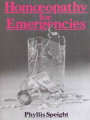 cover image of Homoeopathy For Emergencies