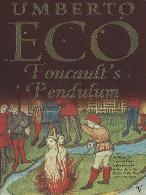 cover image of Foucault's Pendulum