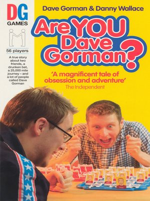 cover image of Are You Dave Gorman?