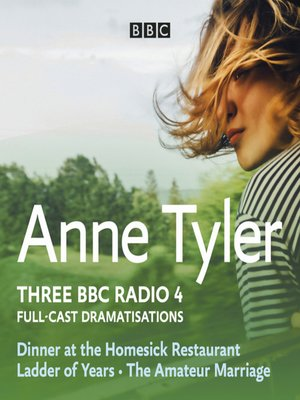 cover image of Anne Tyler: Dinner at the Homesick Restaurant, Ladder of Years & the Amateur Marriage