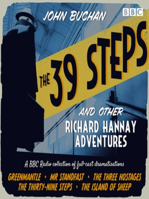 cover image of The 39 Steps and Other Richard Hannay Adventures