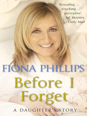cover image of Before I Forget