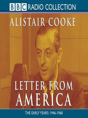 cover image of Letter from America, Volume 1