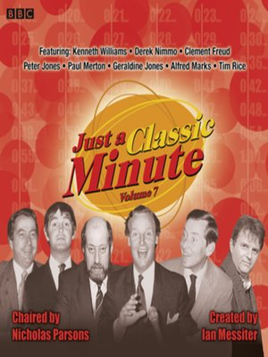 cover image of Just a Classic Minute  Volume 7