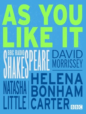 cover image of As You Like It (BBC Radio Shakespeare)
