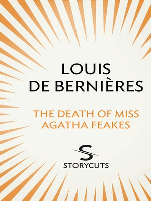 cover image of The Death of Miss Agatha Feakes