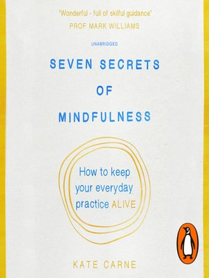 cover image of Seven Secrets of Mindfulness