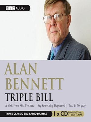 cover image of Triple Bill