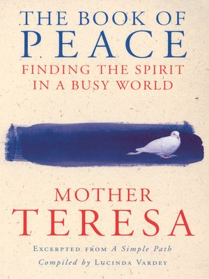 cover image of The Book of Peace