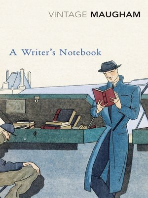 cover image of A Writer's Notebook
