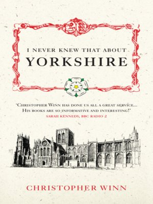 cover image of I Never Knew That About Yorkshire