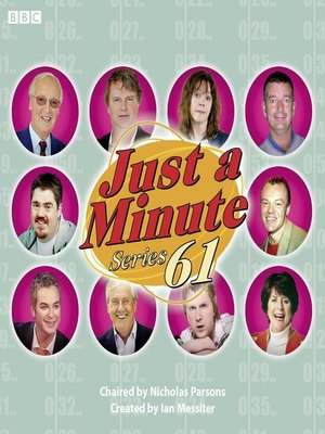cover image of Just a Minute, Series 61, Episode 3