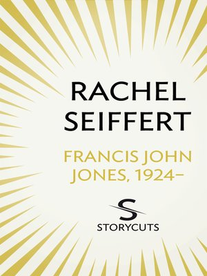 cover image of Francis John Jones, 1924-