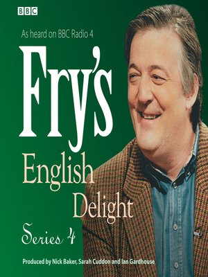 cover image of Fry's English Delight, Series 4