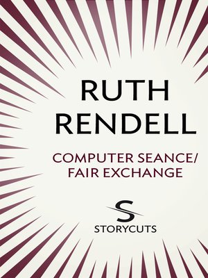cover image of Computer Seance/Fair Exchange