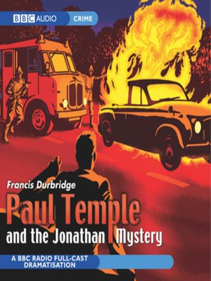 cover image of Paul Temple and the Jonathan Mystery