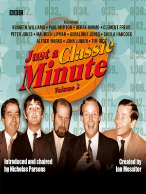 cover image of Just a Classic Minute  Volume 2