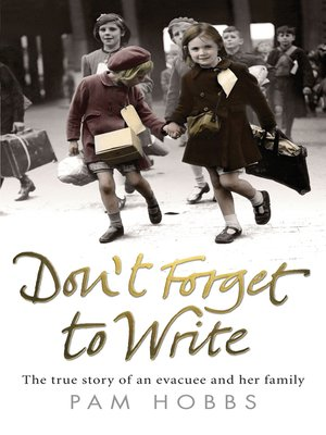 cover image of Don't Forget to Write