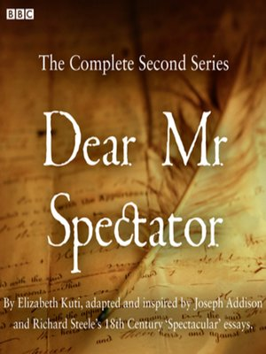 cover image of Dear Mr Spectator  Series 2