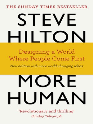 cover image of More Human