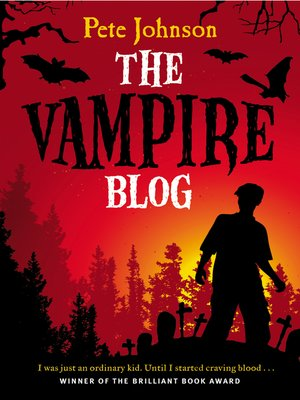 cover image of The Vampire Blog