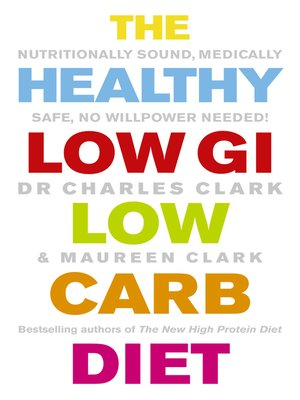 cover image of The Healthy Low GI Low Carb Diet