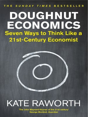 cover image of Doughnut Economics
