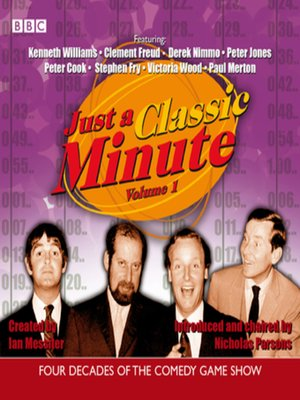 cover image of Just a Classic Minute, Volume 1