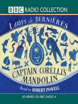 cover image of Captain Corelli's Mandolin