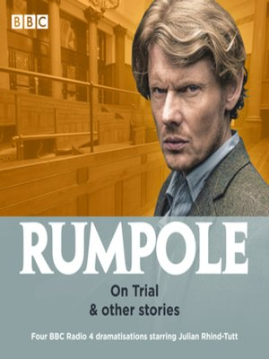 cover image of Rumpole--On Trial & other stories