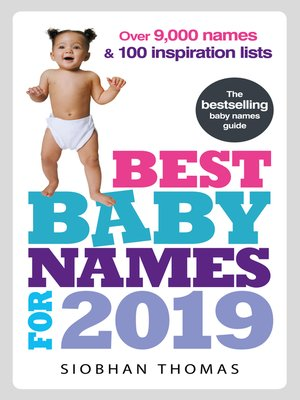 cover image of Best Baby Names for 2019