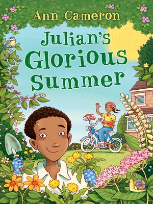cover image of Julian's Glorious Summer