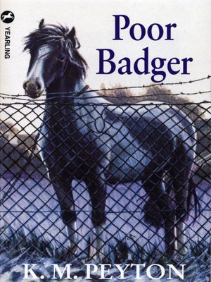 cover image of Poor Badger