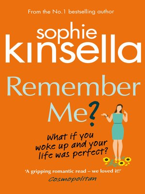 Remember me by sophie kinsella overdrive rakuten overdrive remember me by sophie kinsella ebook fandeluxe Image collections