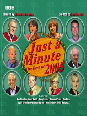 cover image of Just a Minute--The Best of 2005
